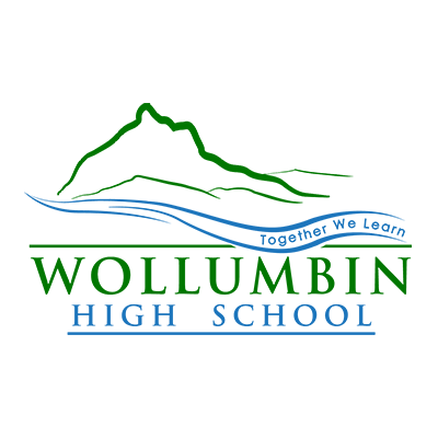 Wollumbin High School logo